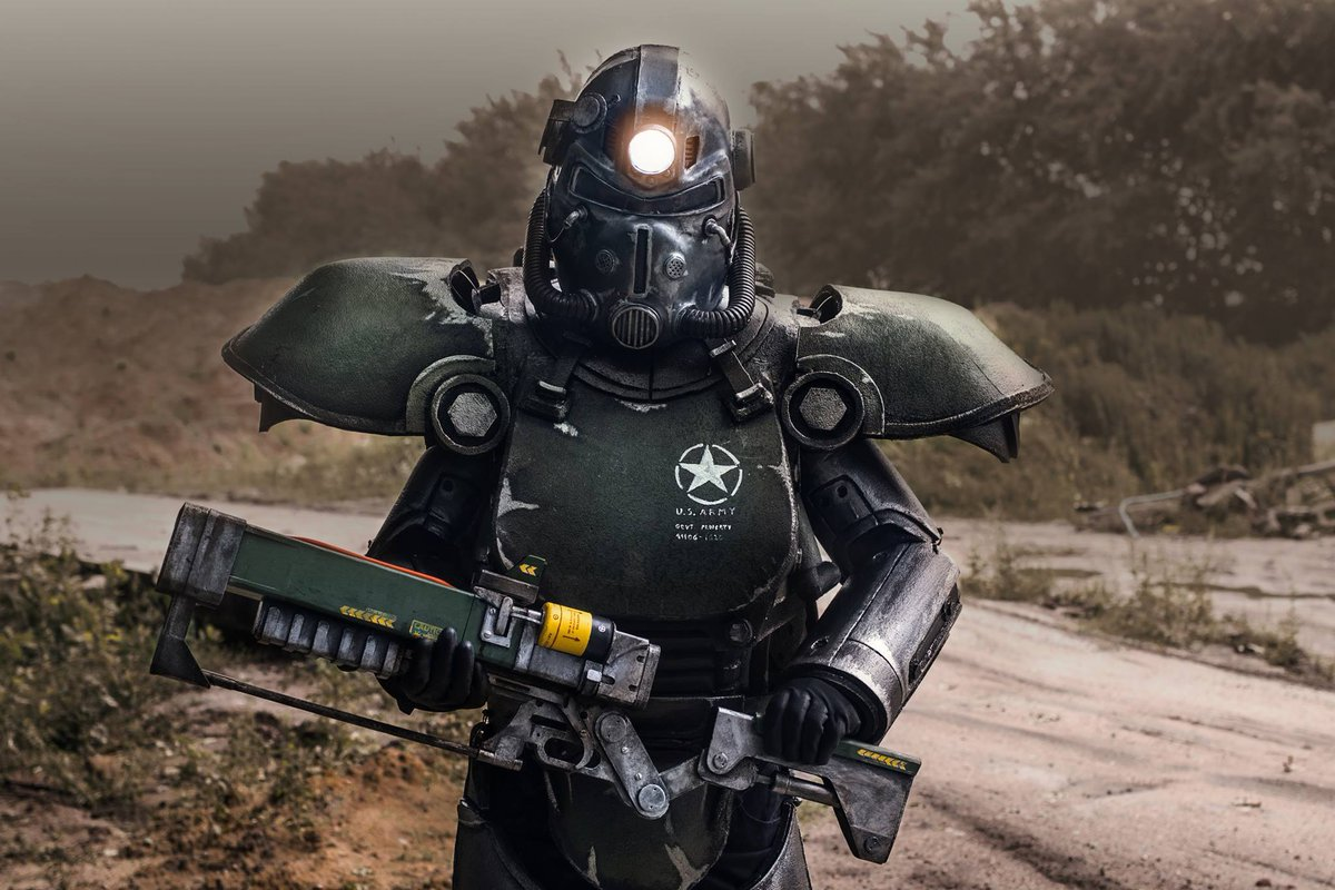 The Rpf On Twitter Fallout T51 Power Armor Costume With Modified