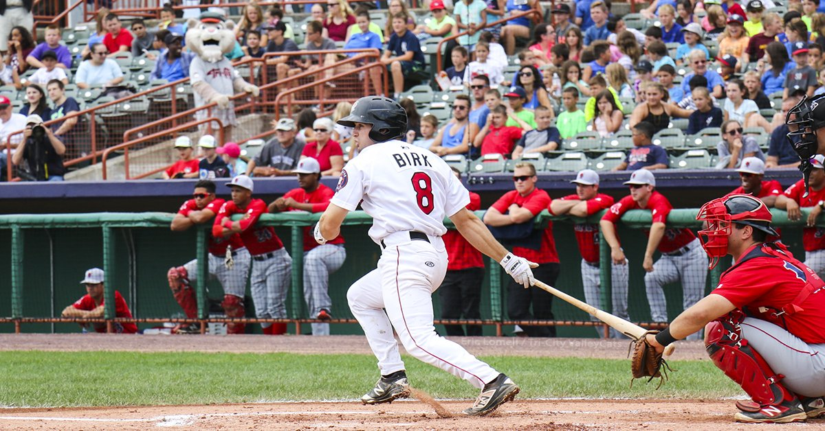 Congrats to @RynoBirk on his promotion to @QCRiverBandits! #VamosFormerGatos #JoetotheShow brought by @curtislumber! https://t.co/MSUV9BuKQB