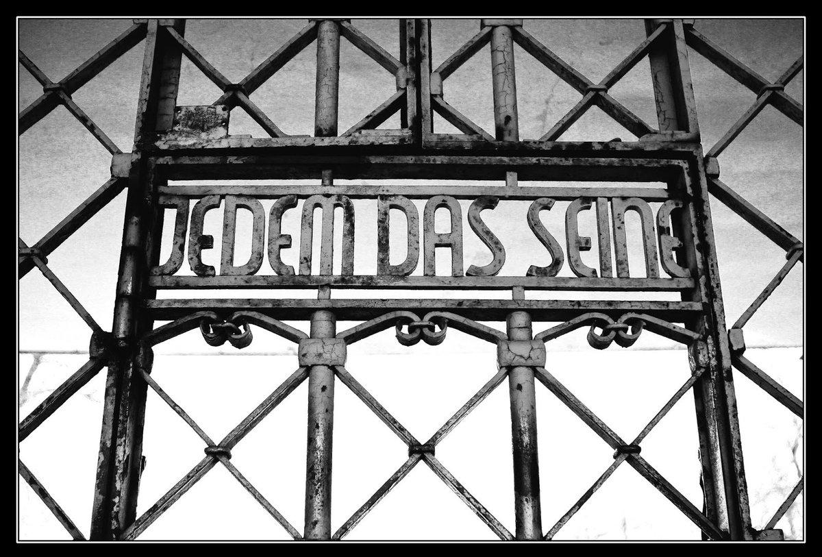 Международный надпись на немецком каждому свое крупных ближайших городах
