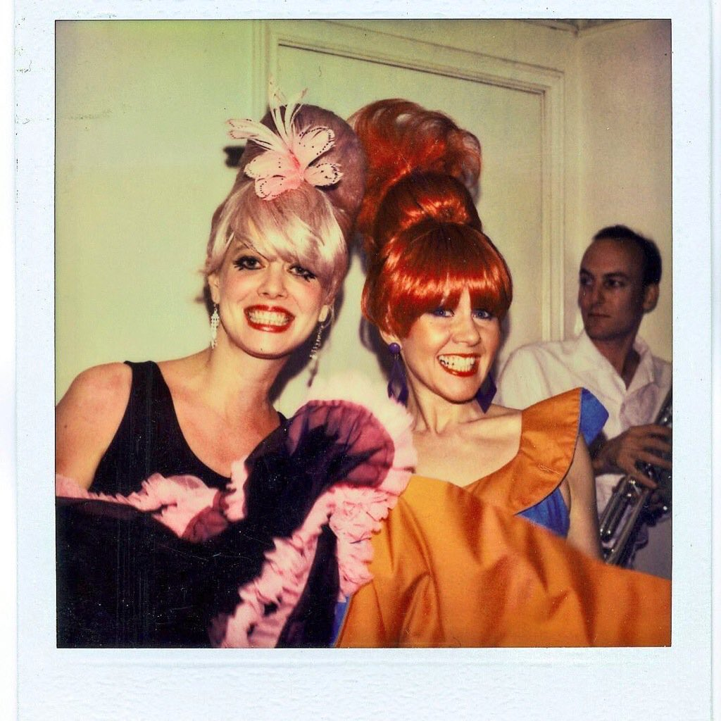 """The B 52 S The B 52 S: Sótano Suizo On Twitter: """"An Early Polaroid Moment With"""