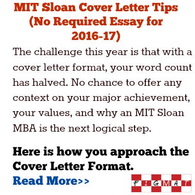 F1gmat Com On Twitter Mit Sloan Mba Admissions Cover Letter Tips Https T Co Gohwn7wfii
