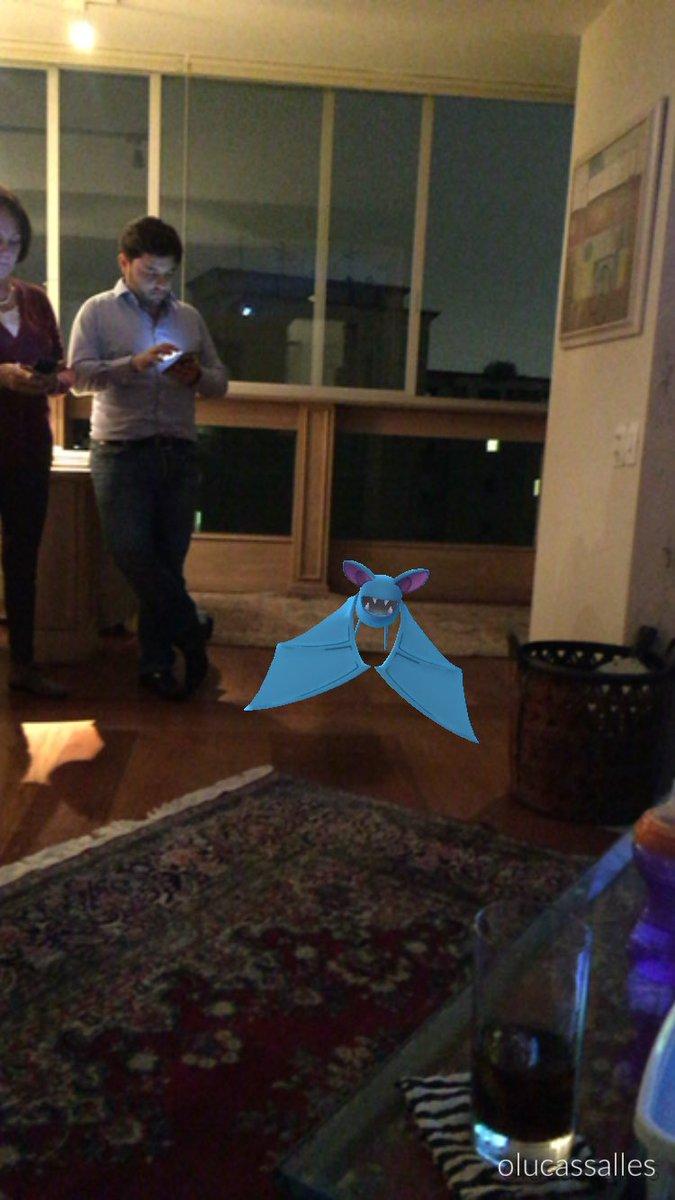 Ninguém aguenta mais pegar outro Zubat no Pokémon Go