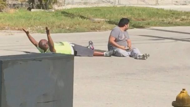 The boss of an unarmed man shot by Florida police is calling him a