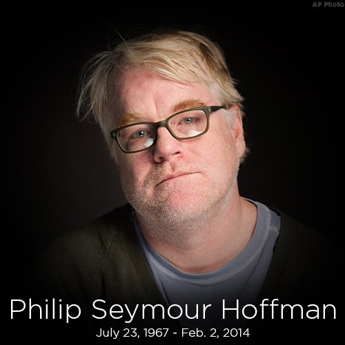 RIP: Actor Philip Seymour Hoffman was born on this day in 1967.