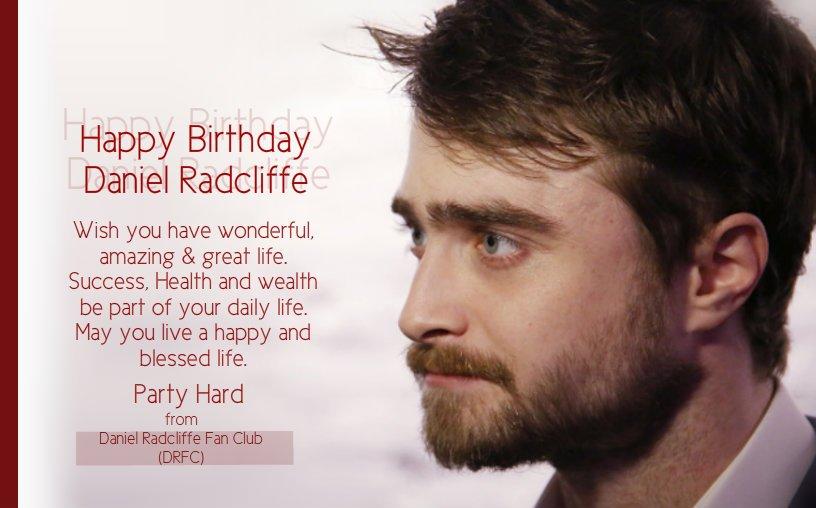 daniel radcliffe birthday Daniel Radcliffe FC on Twitter: