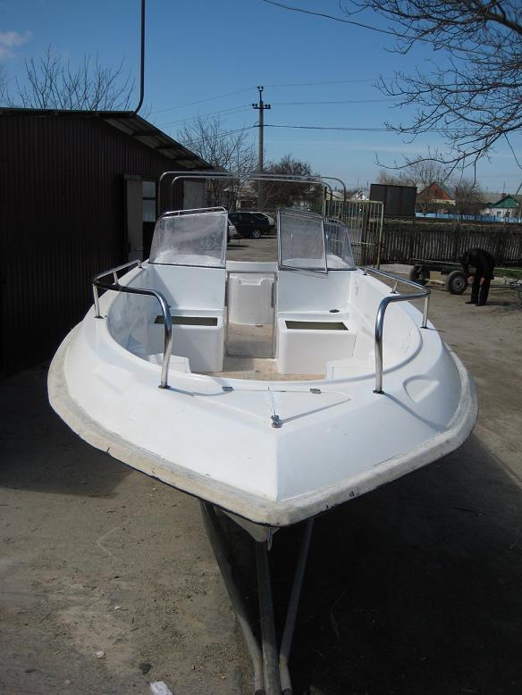 заказать лодку касатка