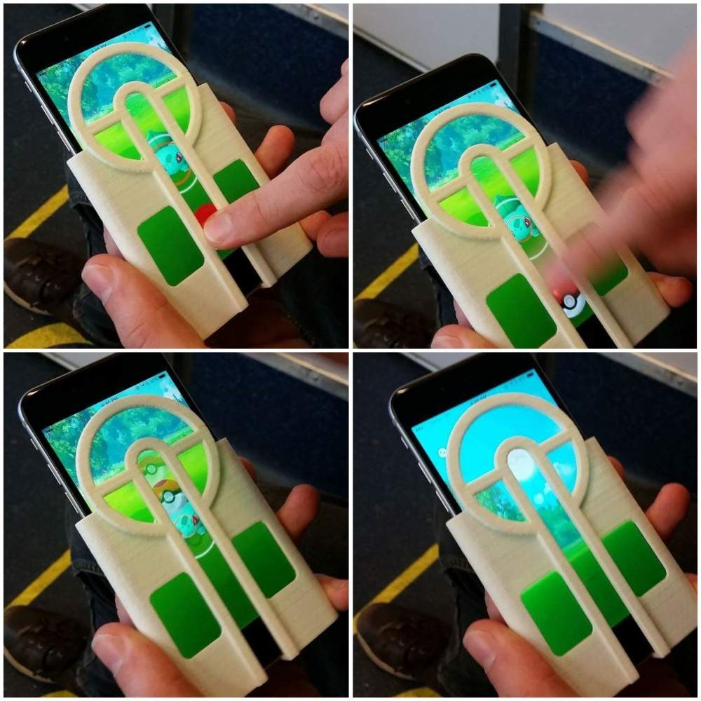 Having trouble aiming? Here's a 3D printed iPhone case to make you suck less at Pokemon Go. https://t.co/4THh1l6y7o https://t.co/DyebgQ0byG