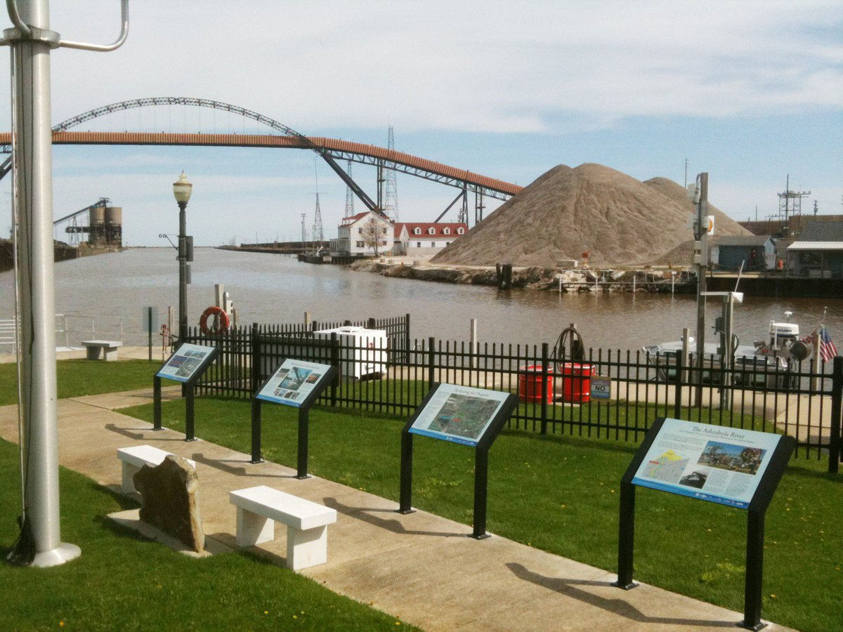 Cleaning up the Ashtabula: River was de-listed as an Area of Concern in 2014  https://t.co/BNaIoee7r9 #seagrantwater https://t.co/fasVvc0N0B