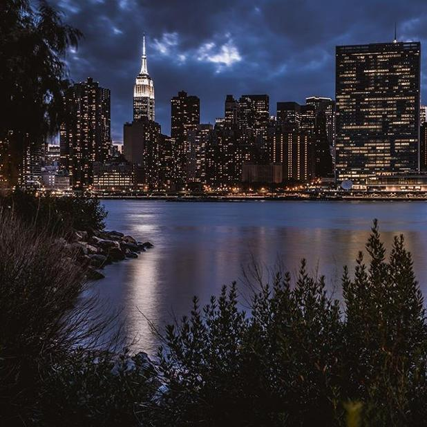 The view from Long Island City courtesy of @javanng -- thanks for sharing with abc7ny!