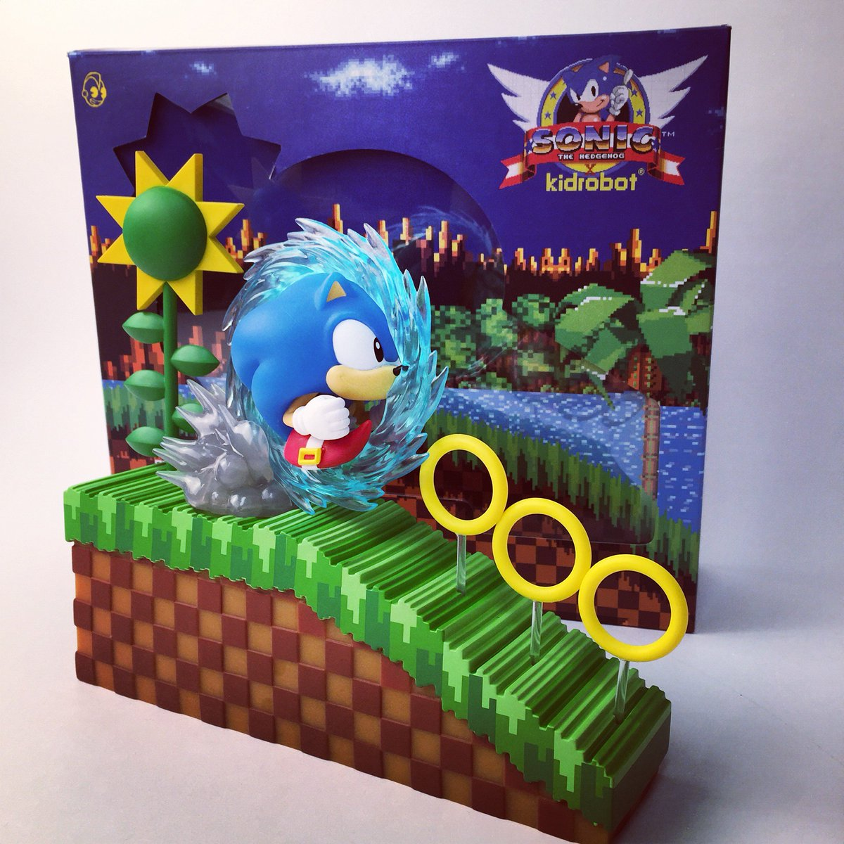 Kidrobot On Twitter Our Sonic The Hedgehog Medium Figure Will Be On Display Tonight At The Sonic The Hedgehog 25th Anniversary Party