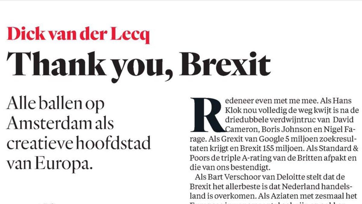 Dick van der Lecq on Twitter: