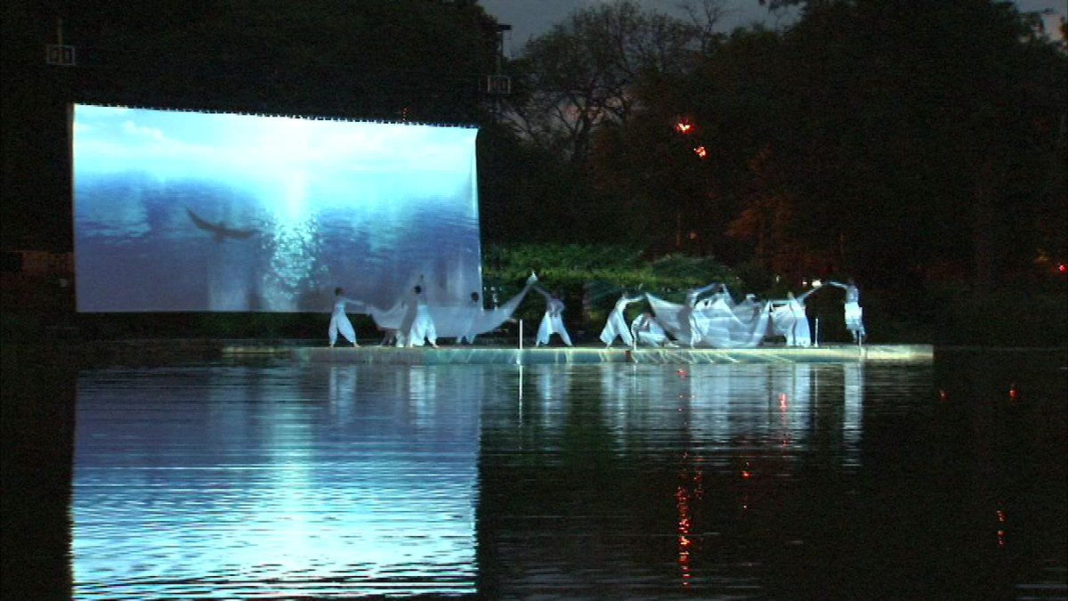 Humboldt Park Lagoon reopens with dance performances