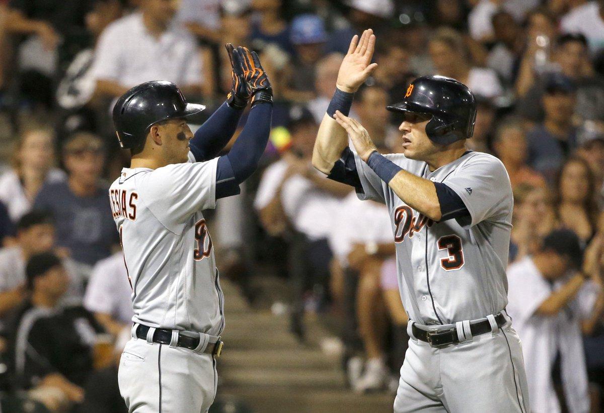 Final score: Tigers 7, White Sox 5
