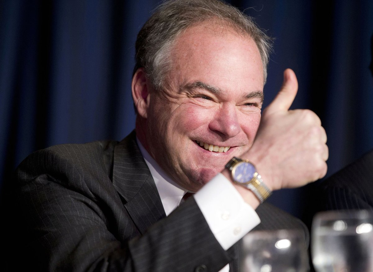What Tim Kaine brings to the Clinton ticket: nice-guy image, deep faith, grounded approach