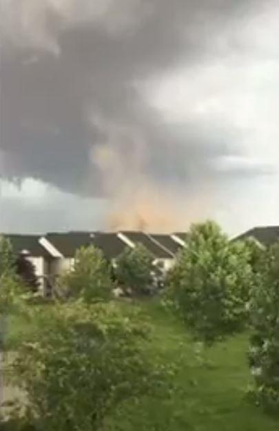 Tornado touches down in Spokane County -