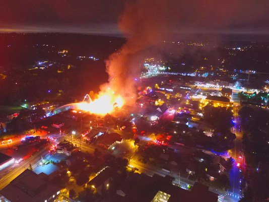 Massive fire causes significant damage to downtown Bothell businesses