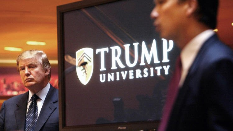 A day after accepting the GOP nomination, Trump had a setback in the Trump University case