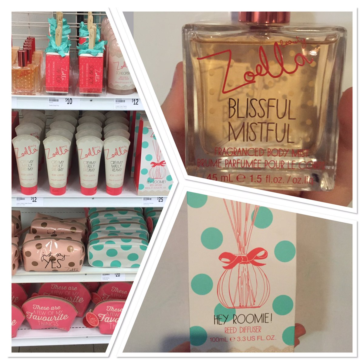 Finally😻@Targetaus totally inlove with the products, thanks so much I'm so incredibly excited @Zoella @ZoellaBeauty https://t.co/9MEYRaU7LN