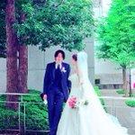俳優・寿里、結婚式の画像をUP!祝福の嵐が!
