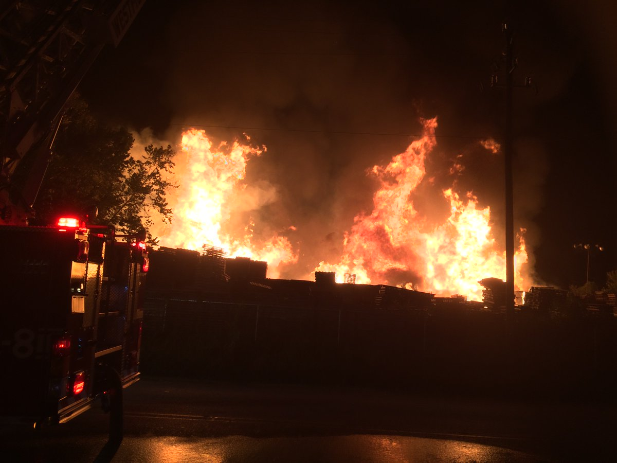 First look at big fire burning in NE Harris County. Reported as trash fire. Live updates starting at 5:30am