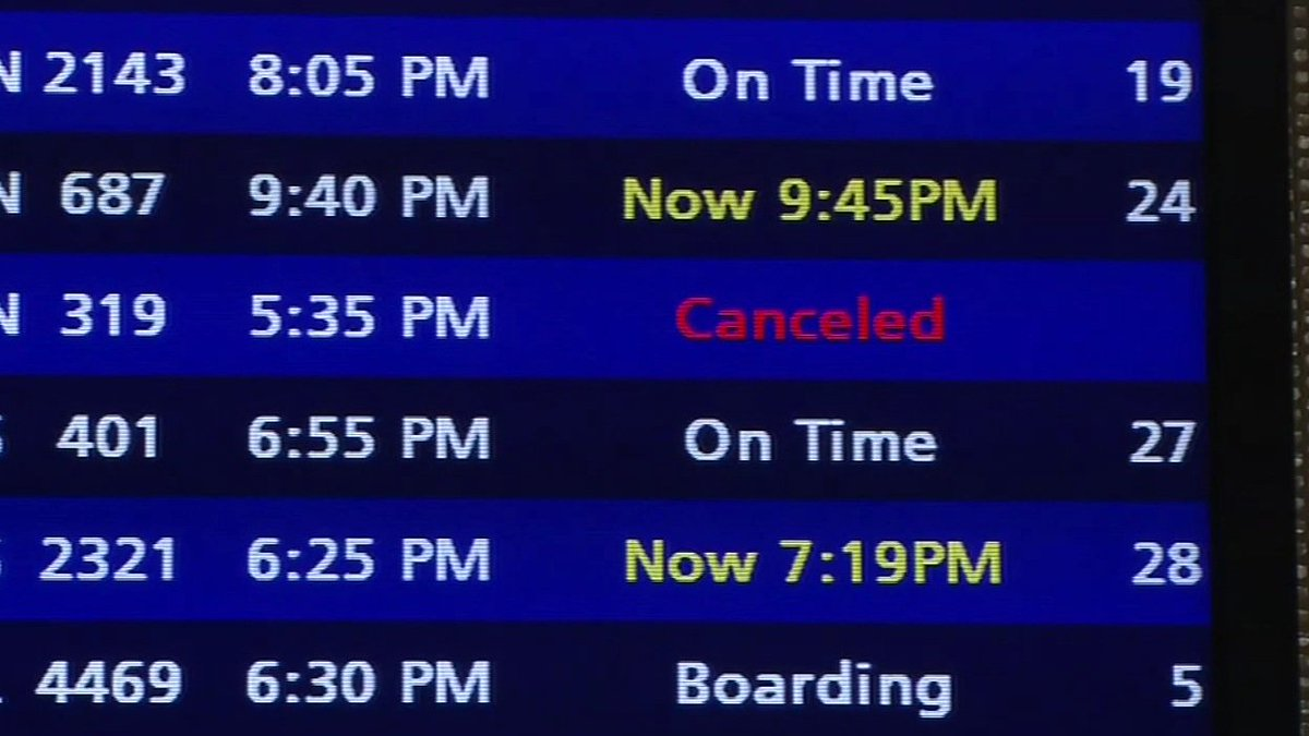 Southwest canceled 370 flights today and passengers in the Bay Area are feeling frustrated.