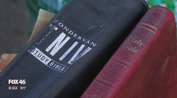 Bibles untouched by flames that destroyed 90-year-old NC church