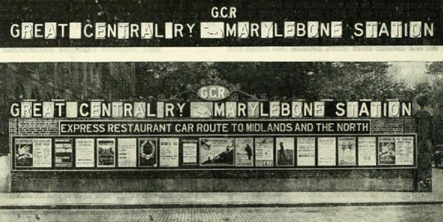 CoCb0MWWgAEERWx - Marylebone station's anniversary