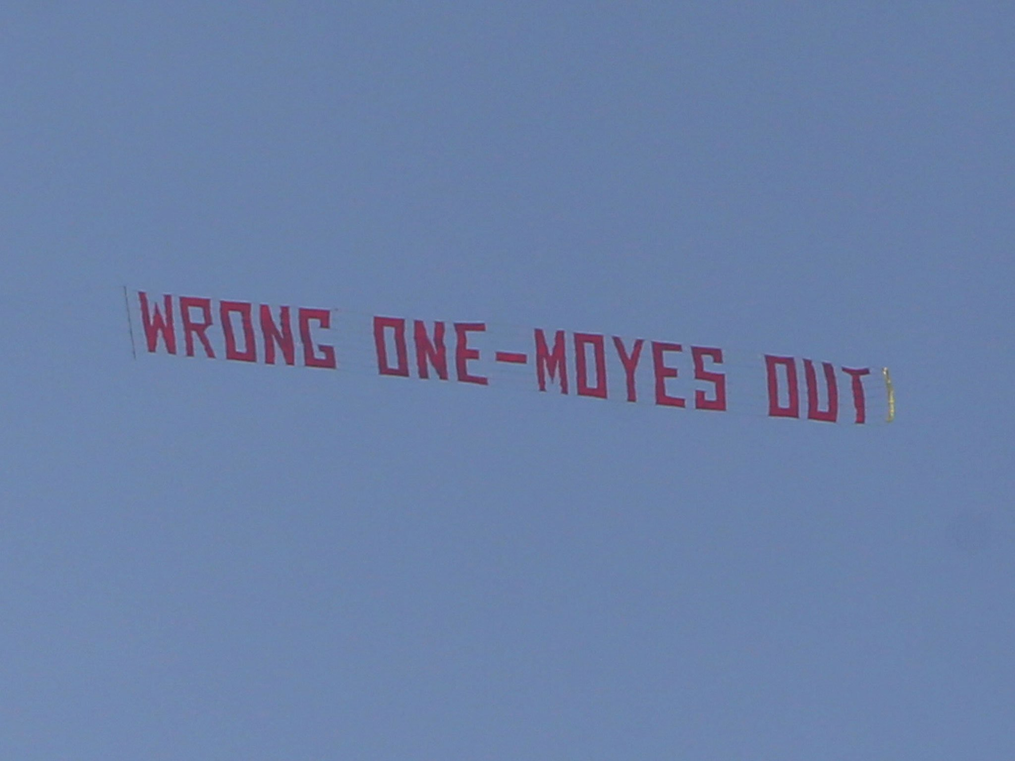 David Moyes latest. First plane spotted over Sunderland. #SAFC https://t.co/nzKVkXXdY4