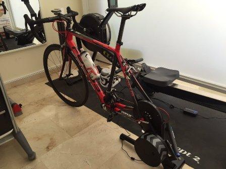Con RODILLO profesional puedes realizar la prueba de esfuerzo con Gases y con tu propia bicicleta. #Cardiologia