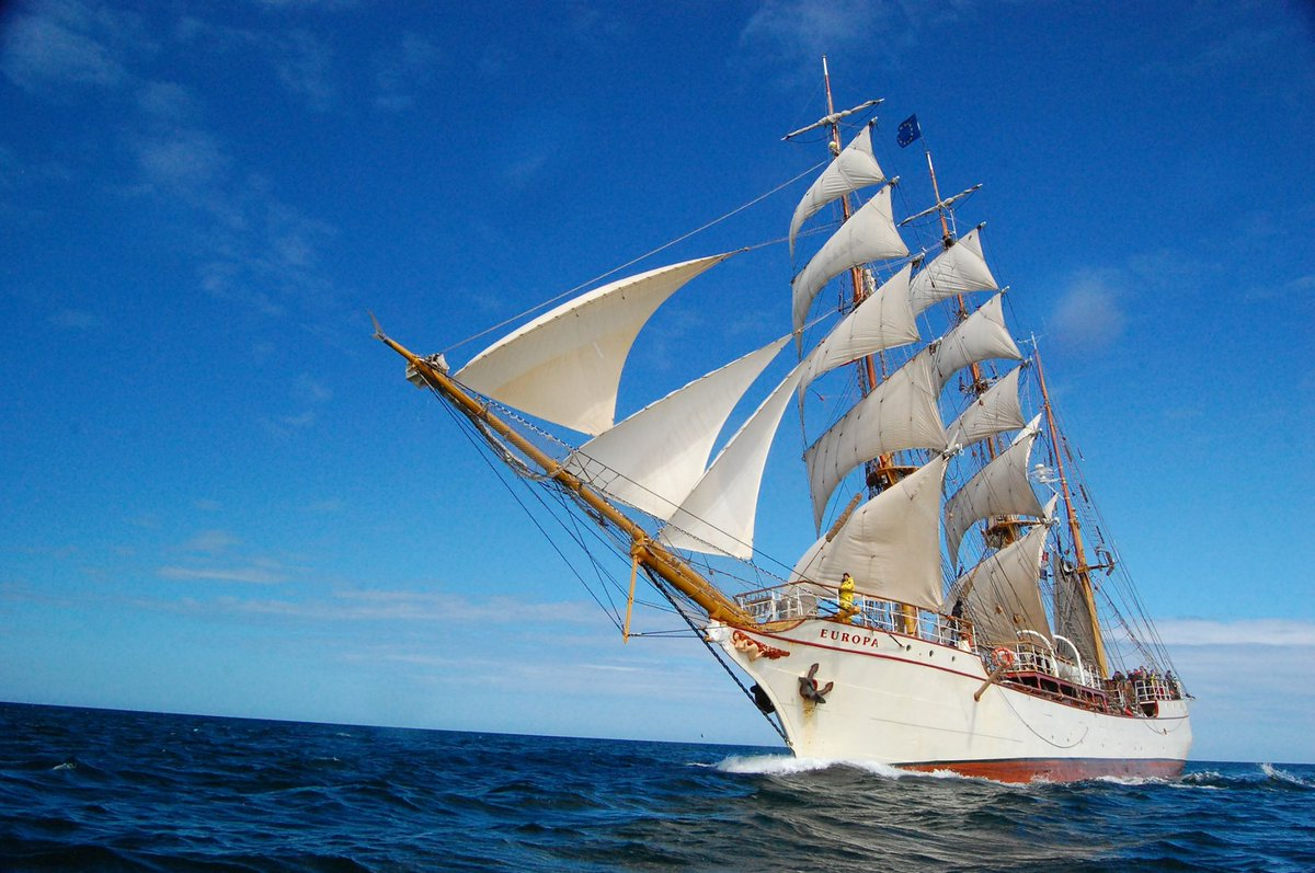 Tall Ship de bark EUROPA