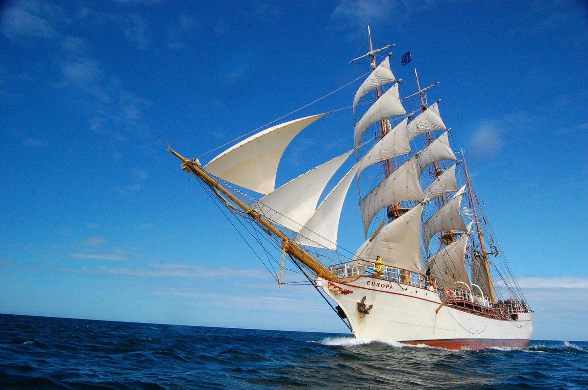 Tall Ship de bark EUROPA