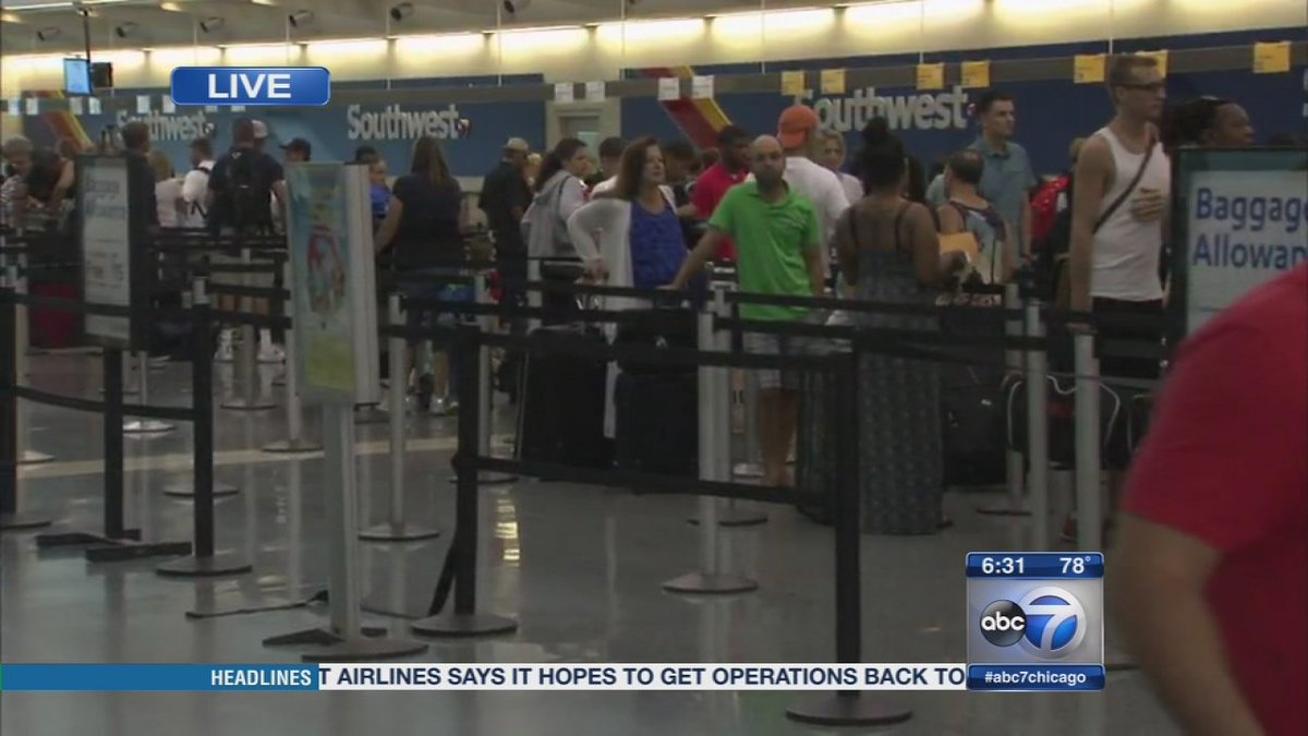 Southwest Airlines catching up after days of delays, computer issues...