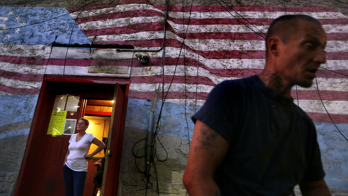 Democrats aren't the only tourists flocking to Philadelphia. So are heroin addicts