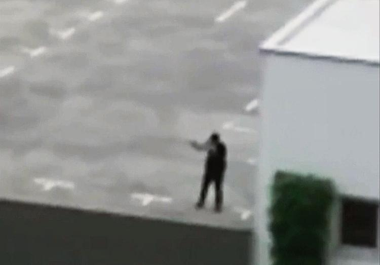 Munich shooter argued with bystander, cursed about 'f---ing Turks' in on-camera exchange