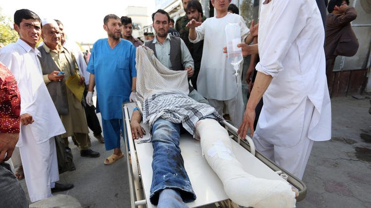 At least 61 dead, 207 wounded in Kabul suicide attack claimed by Islamic State
