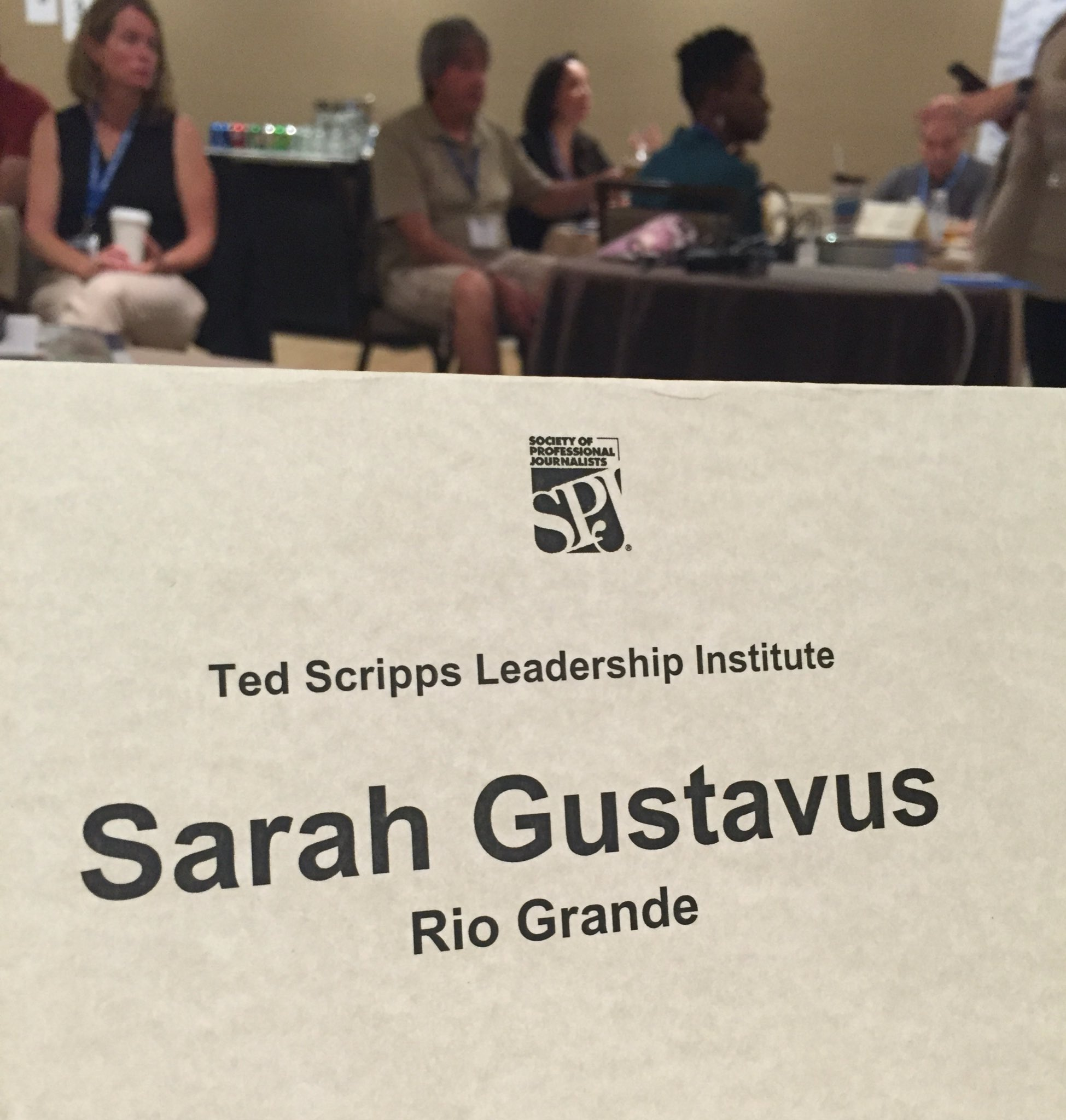 I'm a nerd for professional development. Glad to be at the Ted Scripps Leadership Institute today! #SPJScripps https://t.co/FLKzTWUIqO