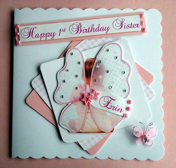One Beau Designs On Twitter Handmade Personalised 1st Birthday