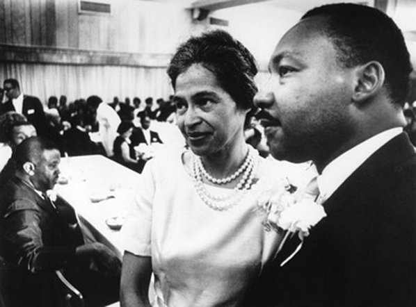 the stand of martin luther king malcolm x and rosa parks against racial inequality and racism in ame Rosa parks, a civil rights activist martin luther king and malcolm x briefly meet in 1964 before going martin was a very brave man to stand up to the rich and.