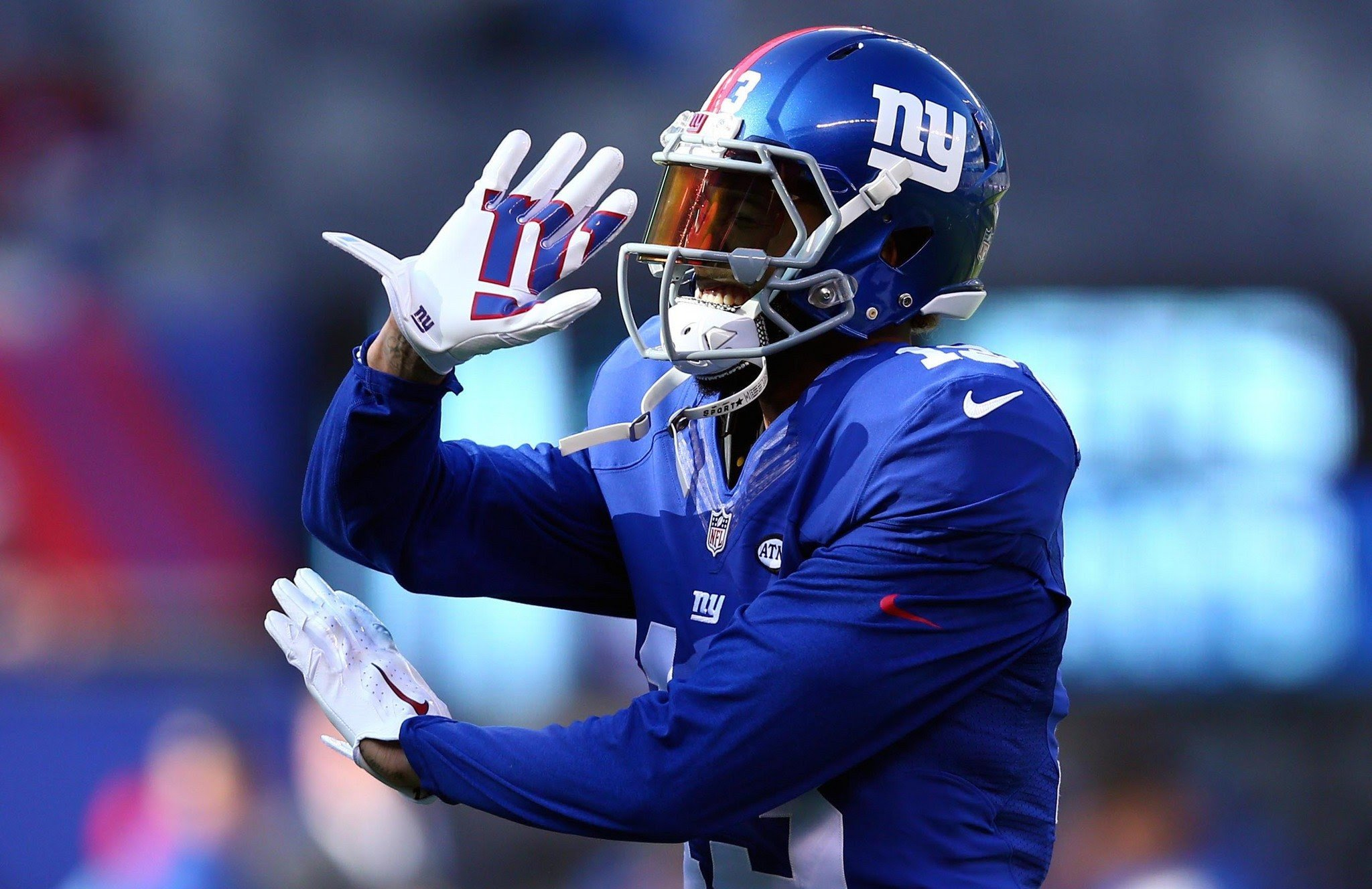 Odell Beckham Jr on Twitter lol caption this pic to win