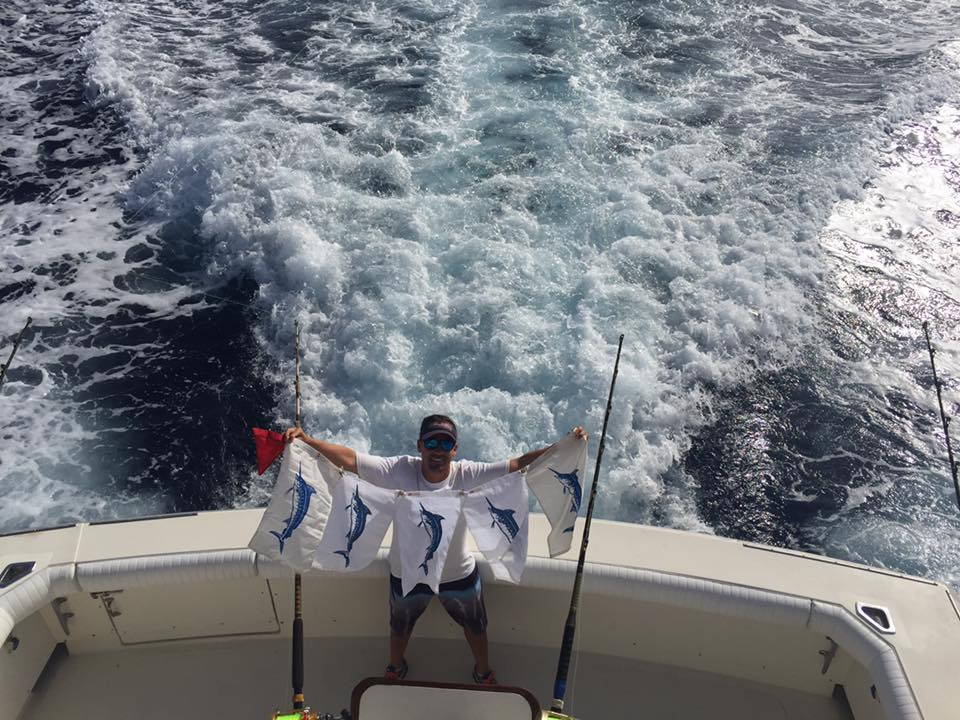 La Gomera - Opa Locka went 5-5 on Blue Marlin, ranging from 500-800 lbs. One of the best reports of the year.