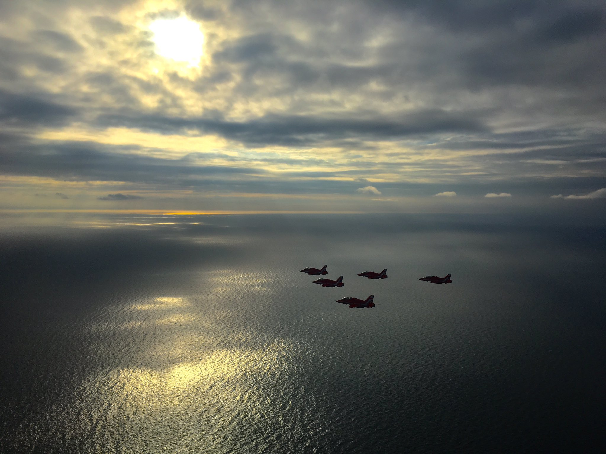 RT @RAFRed10: Beautiful transit to Dublin via the Lake District. Here's Enid basking in the evening sun across the Irish Sea https://t.co/F…