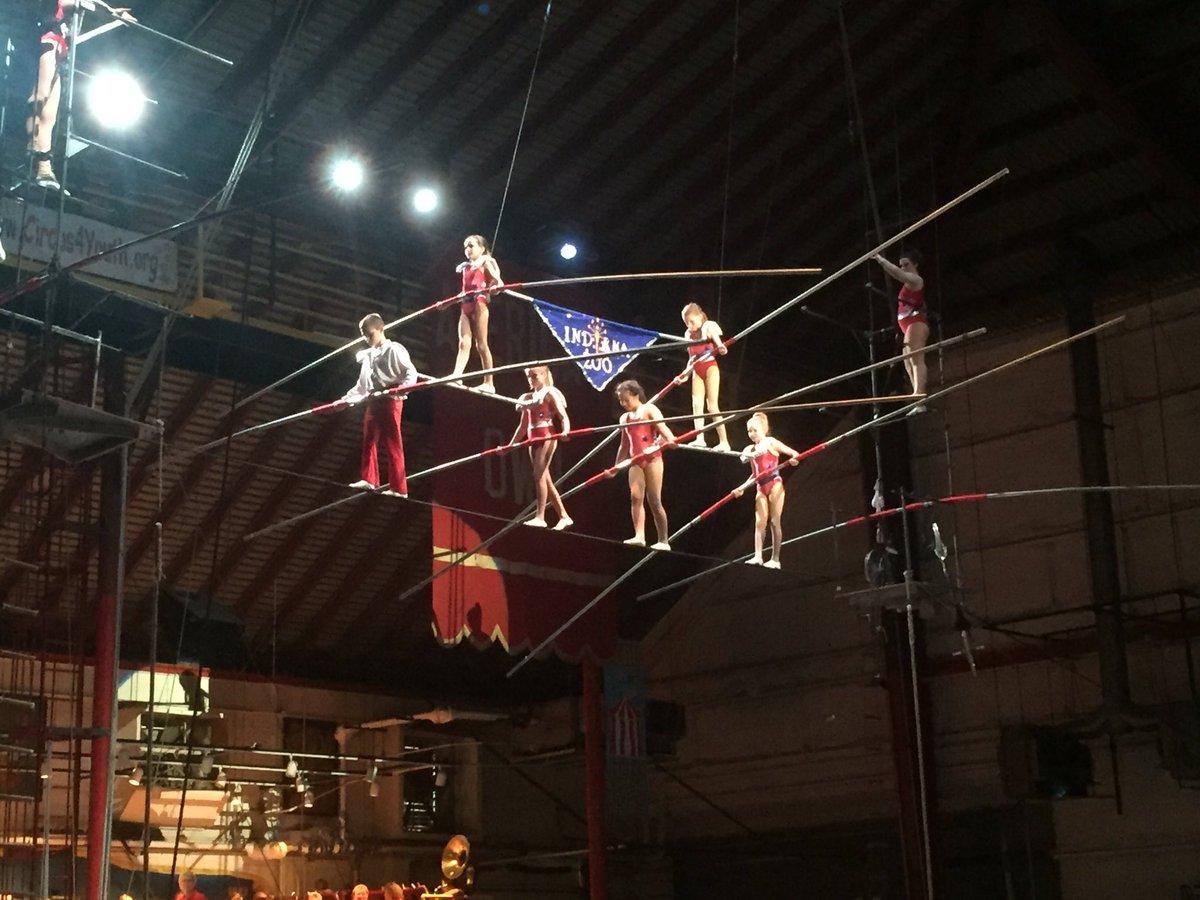Peru amateur circus indiana