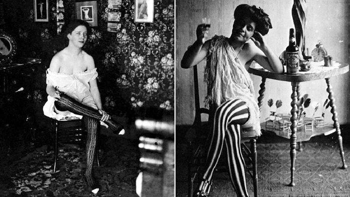ретро фото женщин легкого поведения