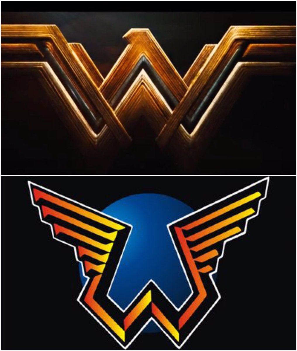 Paul Myers On Twitter No Diss Wonder Woman But The New Logo Is McCartney Wings AF