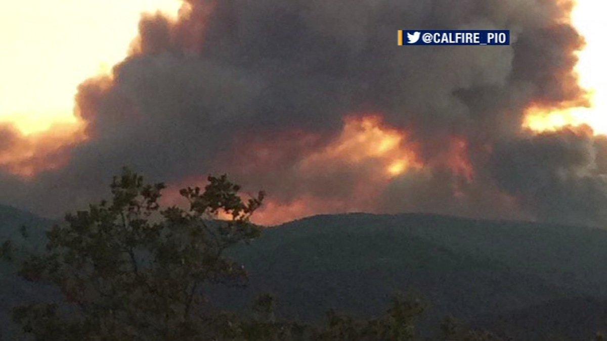 SoberanesFire fire near Big Sur has spread to 6,500 acres. Evacuations underway.