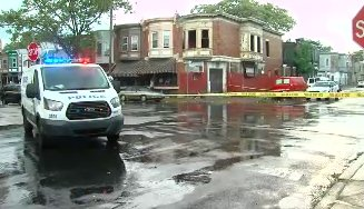 NEW: Police responded to 25th & Cambria Streets in North Philly, where a 20-year-old man was shot twice.