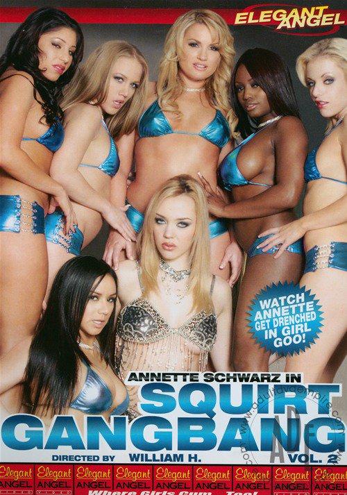 Lesbian squirt gangbang