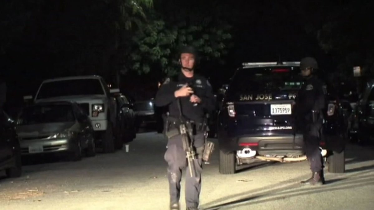 A SanJose house party got so out of control Friday night that a SWAT team was called.