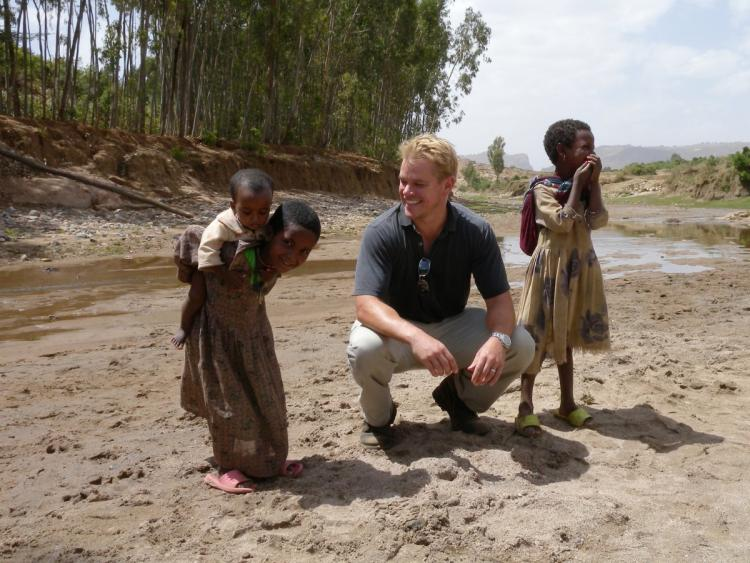 With his @Water charity, Matt Damon is an even bigger hero than Jason Bourne