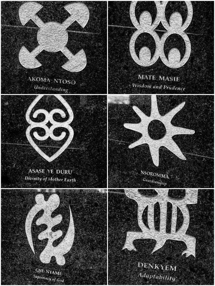 Facts About Africa On Twitter Correction These Are Adinkra
